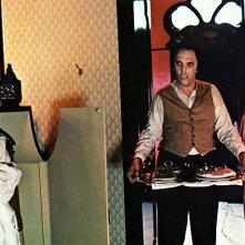 Jessica Harper,  Giuseppe Transocchi e Stefania Casini in una scena di Suspiria