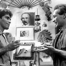 Jorge Perugorria e Vladimir Cruz in una scena di Fragola e cioccolato