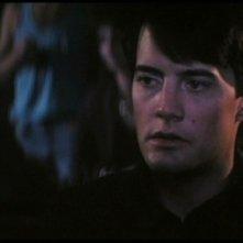 Kyle MacLachlan in una scena di Velluto Blu
