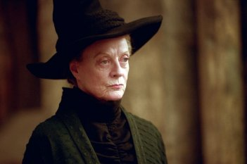 La grande Maggie Smith è Minerva McGranitt