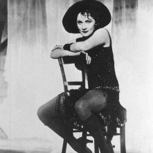 Marlene Dietrich ne L'angelo azzurro