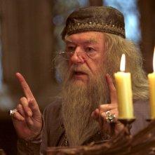 Michael Gambon è il preside di Hogwarts, Albus Silente