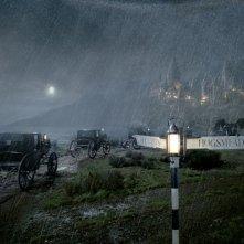 Verso Hogwarts in una notte piovosa