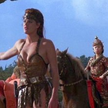Brigitte Nielsen in una scena di Yado