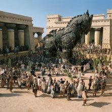 Una scena di Troy