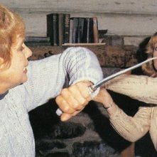 Adrienne King e Betsy Palmer nella resa dei conti finale di Venerdì 13