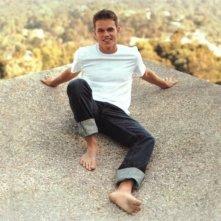 Matt Damon a piedi nudi