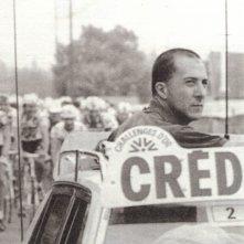 1985 - Dustin Hoffman a 'scuola di ciclismo' per ' The Yellow Jerseys' un film di Michael Cimino che non verrà mai realizzato.