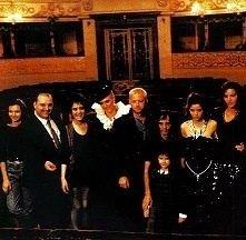 Foto di gruppo sul set di Opera