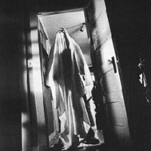 Nick Castle in una scena di Halloween