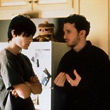 Darren Aronofsky e Jared Leto sul set di Requiem for a Dream