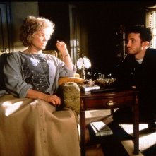 Darren Aronofsky ed Ellen Burstyn sul set di Requiem for a Dream