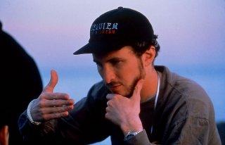 il regista Darren Aronofsky sul set di Requiem for a Dream