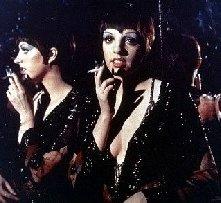 Liza Minnelli in una scena del musical Cabaret