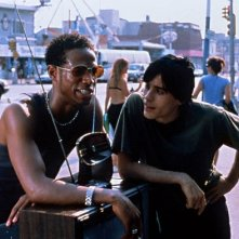 Marlon Wayans e Jared Leto in una scena di Requiem for a Dream