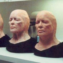 Vari stadi del make up della trasformazione di Ellen Burstyn in Requiem for a Dream ad opera di Vincent J. Guastini
