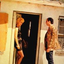 Isabella Rossellini e Nicolas Cage in una scena di Cuore selvaggio