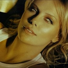 l'attrice sudafricana Charlize Theron