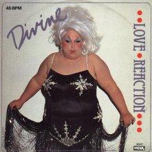 Copertina di un disco di Divine