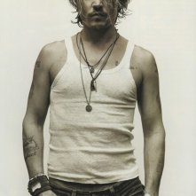 Una sexy immagine di Johnny Depp
