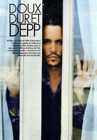 Johnny Depp In Una Foto Per Un Servizio Sul Magazine Francese Elle 4811
