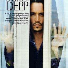 Johnny Depp in una foto per un servizio sul magazine francese Elle