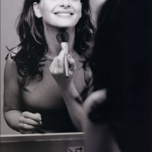 ritocchi al make up per Juliette Binoche
