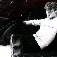 Matt Damon in bianco e nero