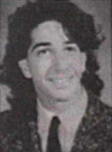 David Schwimmer in una foto giovanile