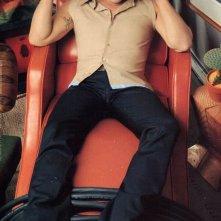 Norman Reedus in una foto promozionale per lo stilista Alessandro Dell'Acqua
