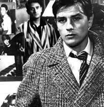 Alain Delon in una scena di Rocco e i suoi fratelli
