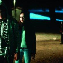 Jake Gyllenhaal e Jena Malone in una scena di Donnie Darko