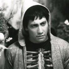 Jake Gyllenhaal in una scena di Donnie Darko, diretto da Richard Kelly