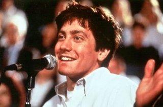 Jake Gyllenhaal in una sequenza di Donnie Darko