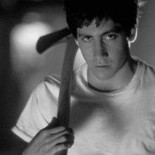 Jake Gyllenhaal in una scena di Donnie Darko