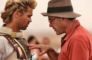 Oliver Stone e Colin Farrell sul set di Alexander