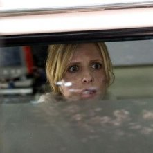 L'attrice Sarah Michelle Gellar in The Grudge