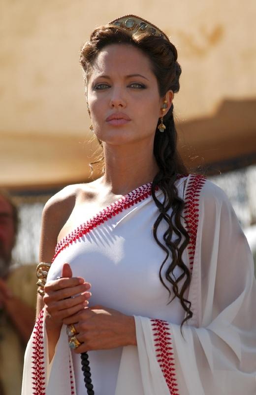 Una Splendida Angelina Jolie In Una Scena Di Alexander 5083