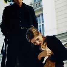 Luigi Lo Cascio e Lucia Jimènez in una scena del film Occhi di cristallo