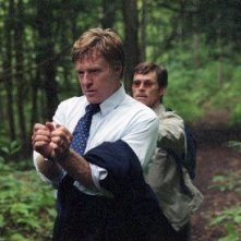 Robert Redford e Willem Dafoe in una scena del film In ostaggio
