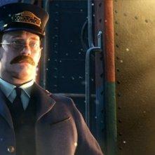 Una scena del film Polar Express (2004)