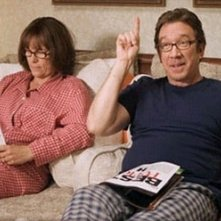 Jamie Lee Curtis accanto a Tim Allen in Fuga dal Natale