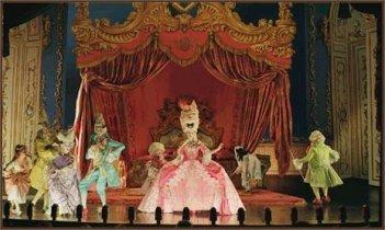 Una scena de Il fantasma dell'Opera
