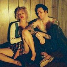 Asia Argento e Marilyn Manson in una scena di Ingannevole è il cuore più di ogni cosa