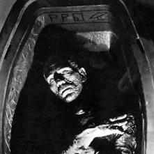 Boris Karloff in una scena di La Mummia