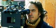 il regista Alejandro González Iñárritu sul set di 21 Grammi - Il peso dell'anima