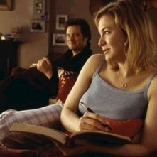 Renèe Zellweger e Colin Firth in una scena di Che pasticcio, Bridget Jones!