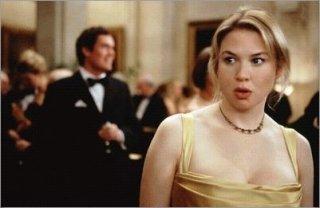 Renèe Zellweger accanto ad Hugh Grant in una scena di Che pasticcio, Bridget Jones!