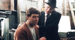 Russell Crowe e Ed Harris in una scena di A Beautiful Mind