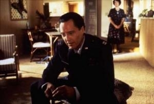 Christopher Walken in una scena di Pulp Fiction
